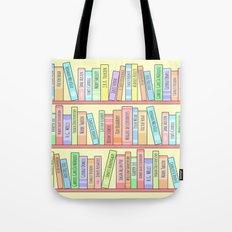 Classics Bookshelf Tote Bag