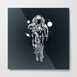 Crazy Astronaut Metal Print