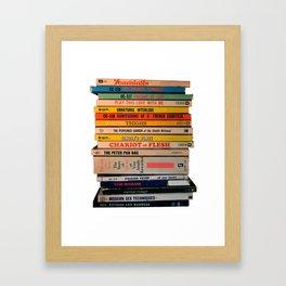 Bedtime Stories Framed Art Print