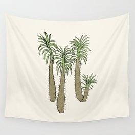 madagascar palm Wall Tapestry