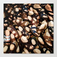 feet Canvas Prints featuring feet by Rick Onorato