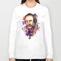 springsteen Long Sleeve T-shirts featuring Cossack Ivan Sirko listen music by Sitchko Igor