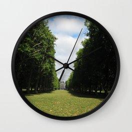 Parting Paths Wall Clock
