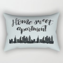 Home Sweet Apartment NYC Rectangular Pillow