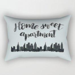 Home Sweet Apartment NYC Rectangular Pillow