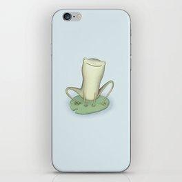 Happy Frog iPhone Skin
