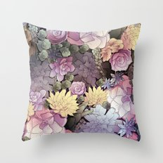 Pastel Nature Throw Pillow
