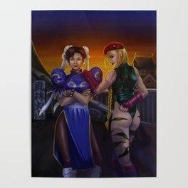 Chun-li and Cammy Poster