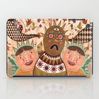 surrealism iPad Cases featuring Folk Surrealism by CrazyMavis