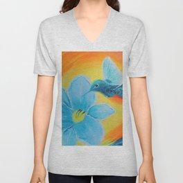 Joy hummingbirds | Joie Unisex V-Neck