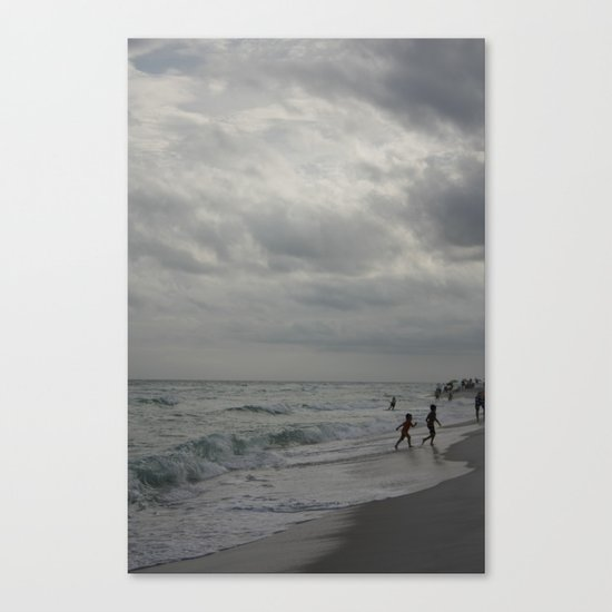 Playing Canvas Print