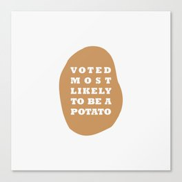 Voted Canvas Print