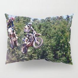 Closing In - Motocross Racers Pillow Sham