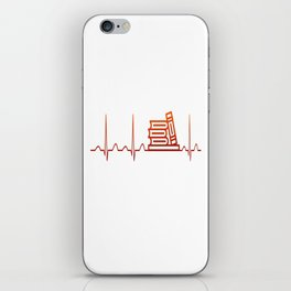 LIBRARIAN HEARTBEAT iPhone Skin
