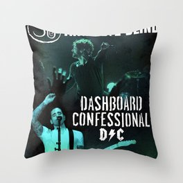 3eb dashboard confessional tour 2019 kepiting Throw Pillow