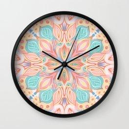 Petal Explosion Wall Clock