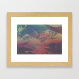 INFLUENCE II Framed Art Print