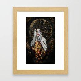 Ophelia's Madness Framed Art Print