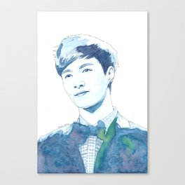 Lay Yixing Watercolour Design Canvas Print