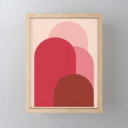 Minimal Arches III Framed Mini Art Print