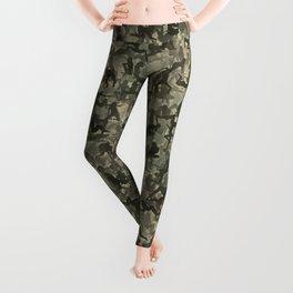 Sexy girls camouflage Leggings