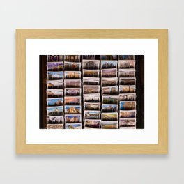 Postcards from Syria Framed Art Print