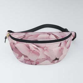 Pink Hydrangea Blossom Photo | Floral Photography In Soft Pastel Color | Summer Flowers Nature Art Print Fanny Pack