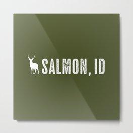 Deer: Salmon, Idaho Metal Print