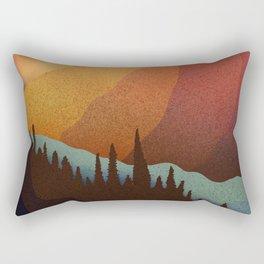 A warm autumn morning Rectangular Pillow
