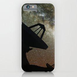 Radio Telescopes and Milky Way iPhone Case