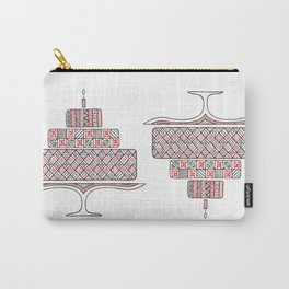 Patterned Cake Carry-All Pouch