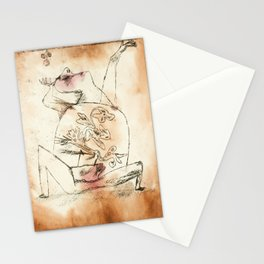 The Pathos of Fertility by Paul Klee, 1921 Stationery Cards