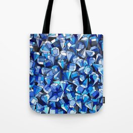 Fond Bleu Tote Bag