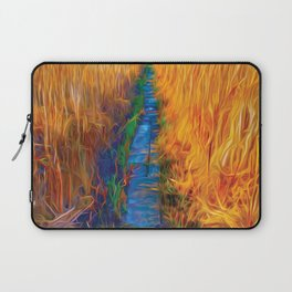 Wetland Boardwalk Laptop Sleeve