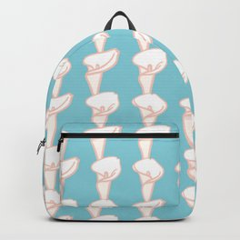 Arum Lily Pattern Backpack