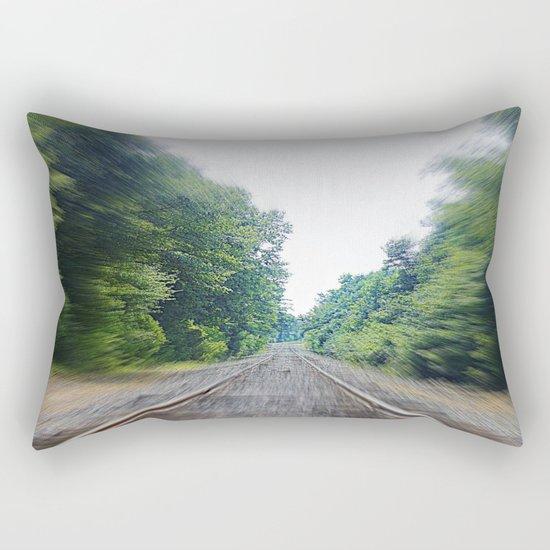 TRAIN TRACKS Rectangular Pillow
