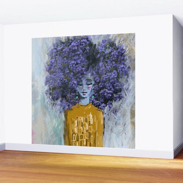 California Lilac Wall Mural
