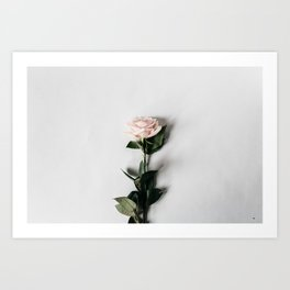 Minimalist Rose Art Print