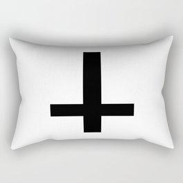 Satanic Cross Rectangular Pillow