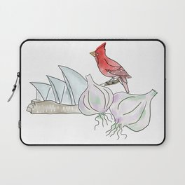 Sydney, Garlic, Cardinal Laptop Sleeve