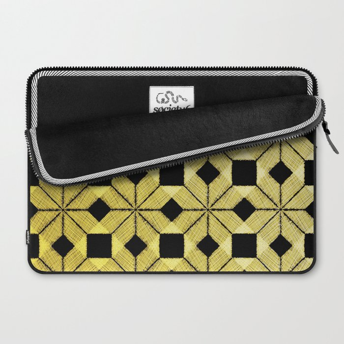 Golden Snow Laptop Sleeve