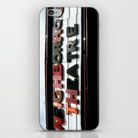 theatre iPhone & iPod Skins featuring Theatre by Caitlin Victoria Parker