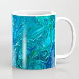 Elegant Crazy Lace Agate 2 - Blue Aqua Coffee Mug