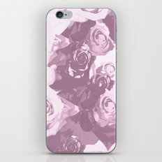 Rose bouquet - beautiful roses from rose garden - vintage style iPhone & iPod Skin