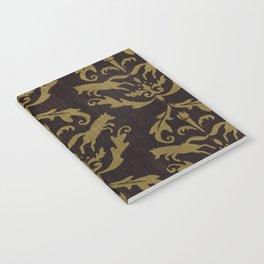 Fox Damask Notebook