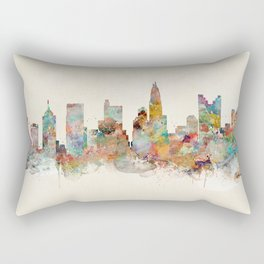 columbus ohio  Rectangular Pillow