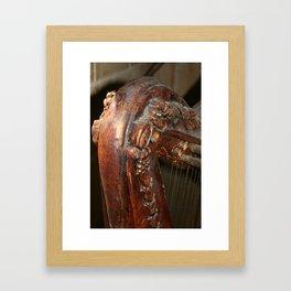 The Old Harp Framed Art Print