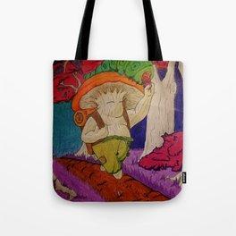 Shroomkin on an Adventure Tote Bag