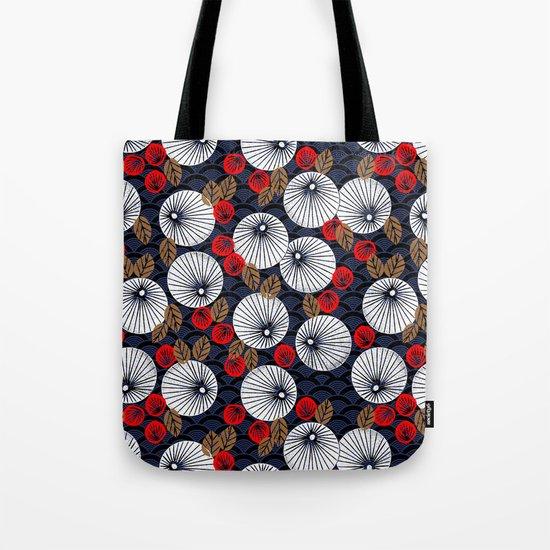 Parasol Garden Tote Bag