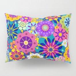 Retro Garden Pillow Sham